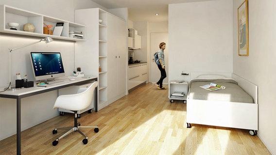 355 euro warmmiete neues heim f r studenten nachrichten hamburg. Black Bedroom Furniture Sets. Home Design Ideas
