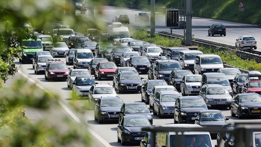 Stau Und Stockender Verkehr