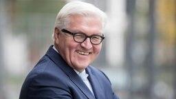 Bundesaußenminister Frank-Walter Steinmeier. © dpa Fotograf: Michael Kappeler