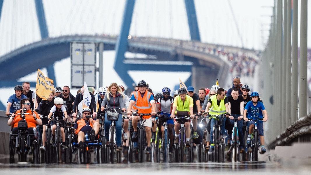 Tausende bei Fahrradsternfahrt erwartet