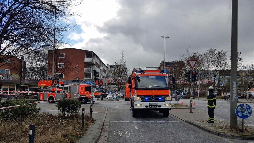 Sturm In Hamburg