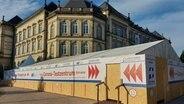 Hamburg eröffnet ein weiteres Corona-Testzentrum am Hamburger Hauptbahnhof. © NDR Foto: Karsten Sekund