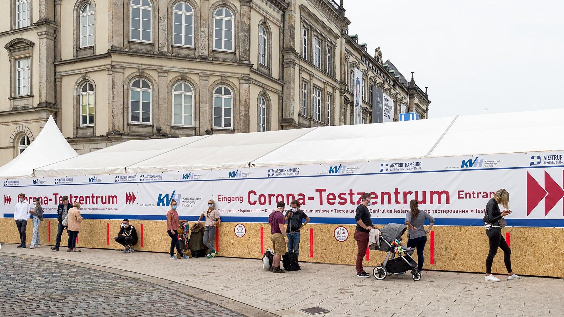 Corona Testzentrum am Hamburger Hauptbahnhof   NDR.de ...