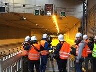 Erster a7 deckel der verkehr rollt nachrichten for Tunnel schnelsen