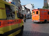 Ambulance and ambulance cars in Hamburg. © Telenewsnetwork