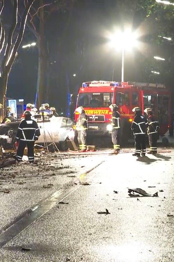 Mehrere Verletzte durch illegales Autorennen