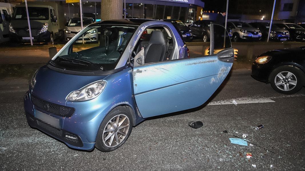 Streit zwischen Autofahrern führt zu Unfall