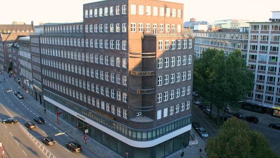 Der Hamburger Sitz des Verbands Deutscher Reeder © VDR