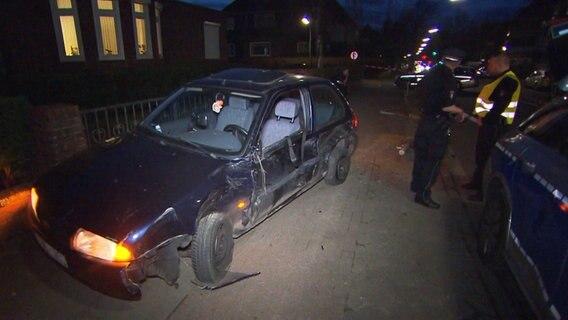 Verfolgungsjagd Flüchtiger Fahrer rammt fünf Polizeiautos zwischen Köln und Koblenz