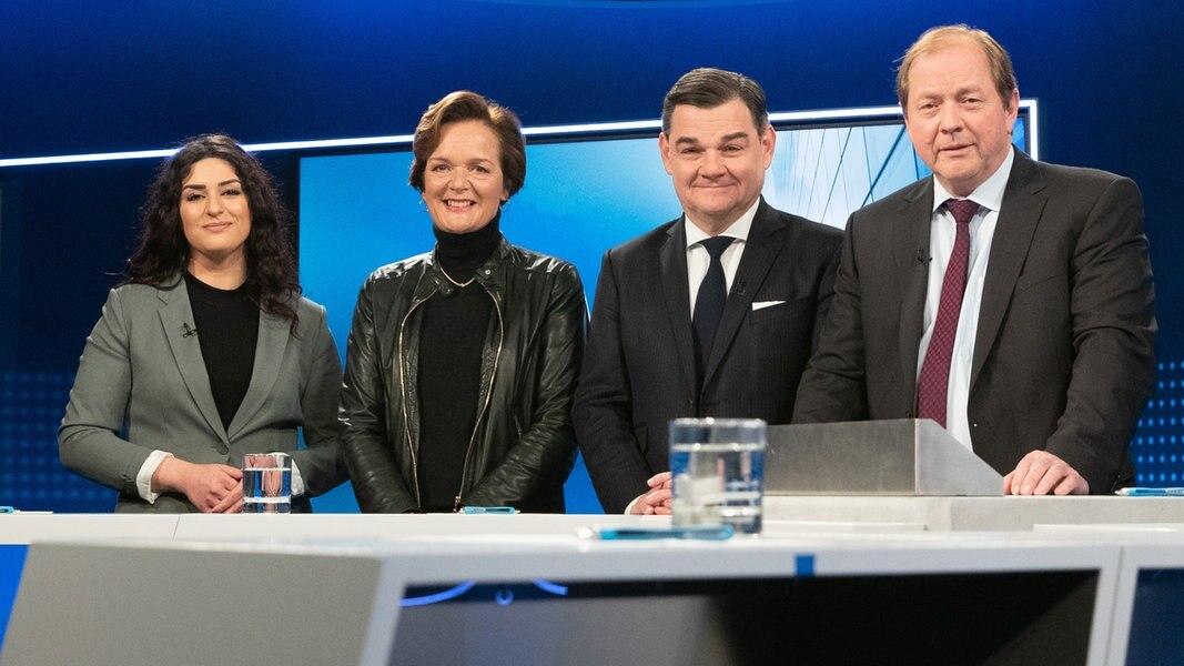 Wahl Hamburg: Hitzige Diskussion der Opposition