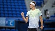 Alexander Zverev holt Gold im Tennis Einzel. © IMAGO Foto: Moritz Müller