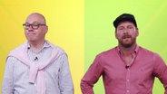 Markus Schubert von NDR Info (links) und Andreas Kuhlage von N-JOY © NDR