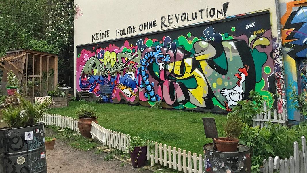 Europawahl-Hausbesuch im Hamburger Gängeviertel