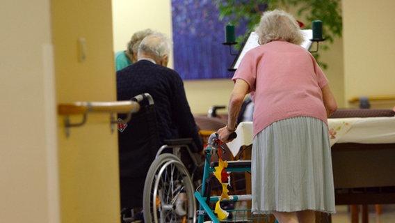 101-Jährige will Tochter sehen und flüchtet aus Heim