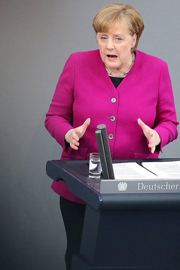 Merkel Fernsehen