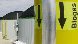 Biogas-Anlage © picture alliance/dpa Foto: Matthias Schrader