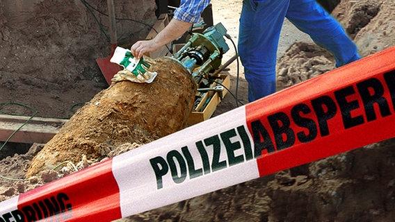 Fliegerbombe in Kiel wird heute entschärft