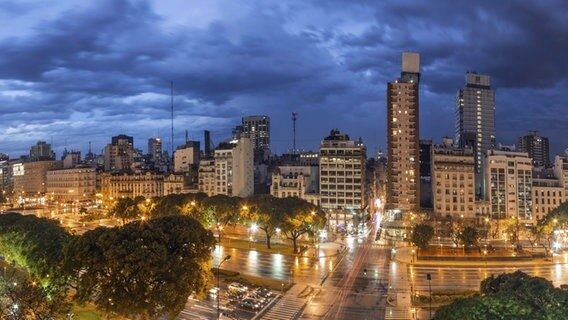Panorama-Bild von Buenos Aires. © picture alliance / Global Travel Images