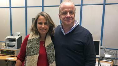 Hubertus Meyer-Burckhardt mit Marie-Theres Relin © NDR
