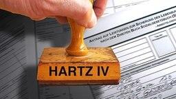 Hartz IV © picture alliance/sven simon Foto: sven simon