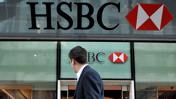 HSBC in London © picture alliance / dpa /EPA Foto: Andy Rain