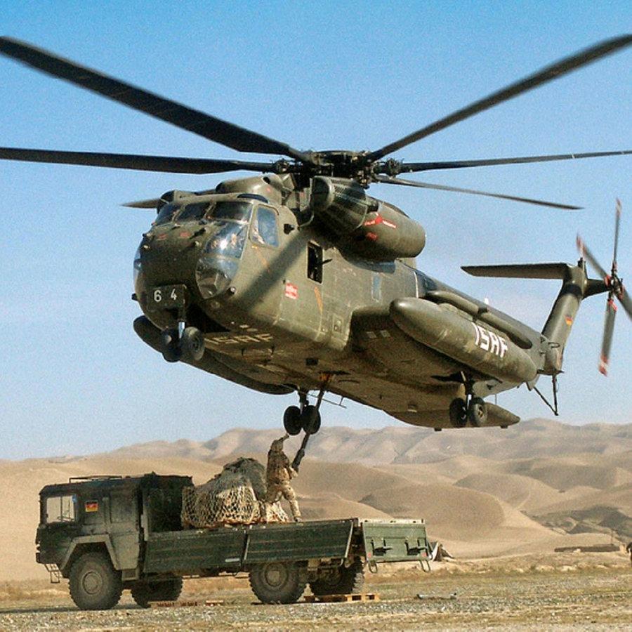 (2) Bundeswehr-Hubschrauberflotte in Turbulenzen