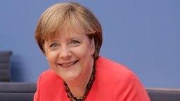 Bundeskanzlerin Angela Merkel. © dpa bildfunk Foto: Michael Kappeler