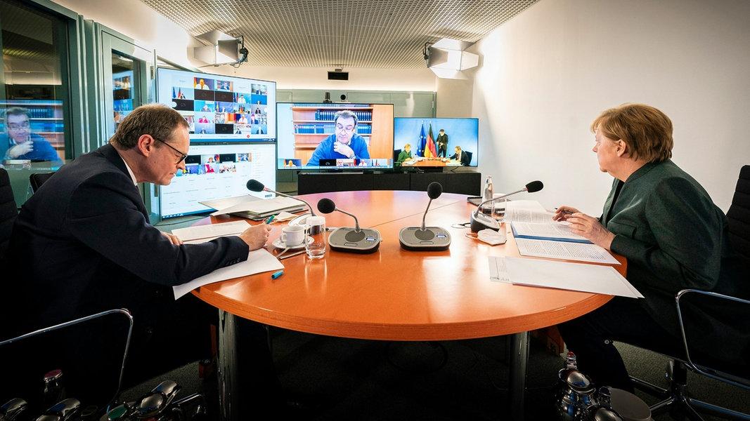 Corona-News-Ticker: Heute tagt der Bund-Länder-Gipfel