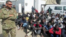 Flüchtlinge in Libyen. © ARD Foto: Björn Blaschke