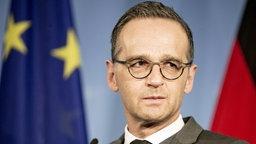 Ein Porträtbild von Bundesaussenminister Heiko Maas (SPD). © picture alliance/dpa Foto: Christoph Soeder