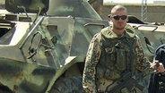 Der Bundeswehr-Soldat Robert Müller-Sedlatzek im Einsatz in Afghanistan. © Robert Müller-Sedlatzek