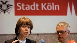 Die Kölner Oberbürgermeisterin Henriette Reker © dpa - Bildfunk Foto: Oliver Berg