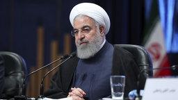 Hassan Rohani, Präsident des Iran. © dpa picture alliance