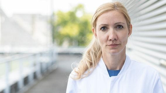 Die Virologin Prof. Dr. Sandra Ciesek © Universitätsklinikum Frankfurt Foto: Ellen Lewis