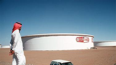 Erdöltanks in Saudi-Arabien © picture-alliance