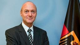 Bundesnachrichtendienst-Präsident Gerhard Schindler. © dpa bildfunk/BMI Foto: BMI/Hans-Joachim M. Rickel