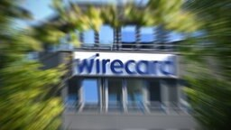 Der Schriftzug wirecard  am Firmensitz in Aschheim. © dpa picture alliance Foto: Frank Hoermann