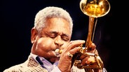 Dizzy Gillespie, Jazz-Trompeter © picture alliance /