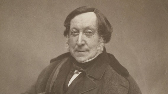 Gioacchino Rossini, Komponist © picture alliance / Liszt Collection Foto: Liszt Collection