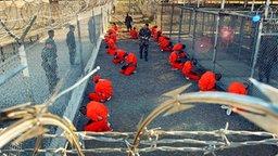 Gefangenenlager Guantanamo auf Kuba. © dpa (Fotograf: A2800 epa Shane T. McCoy)