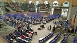 Der deutsche Bundestag © dpa