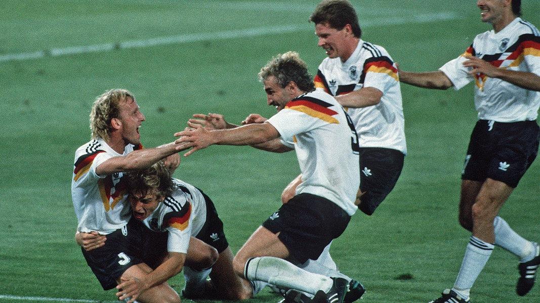 Deutschland Italien 1990