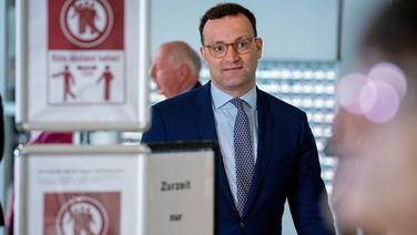 Bundesgesundheitsminister Jens Spahn (CDU). © dpa bildfunk Foto: Kay Nietfeld
