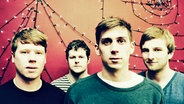 "Die Band ""We Were Promised Jetpacks"" tritt beim Reeperbahn Festival 2012 in Hamburg auf. © We Were Promised Jetpacks"