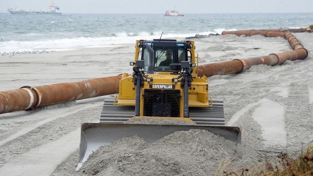 Usedom: 500.000 Kubikmeter Sand für den Strand