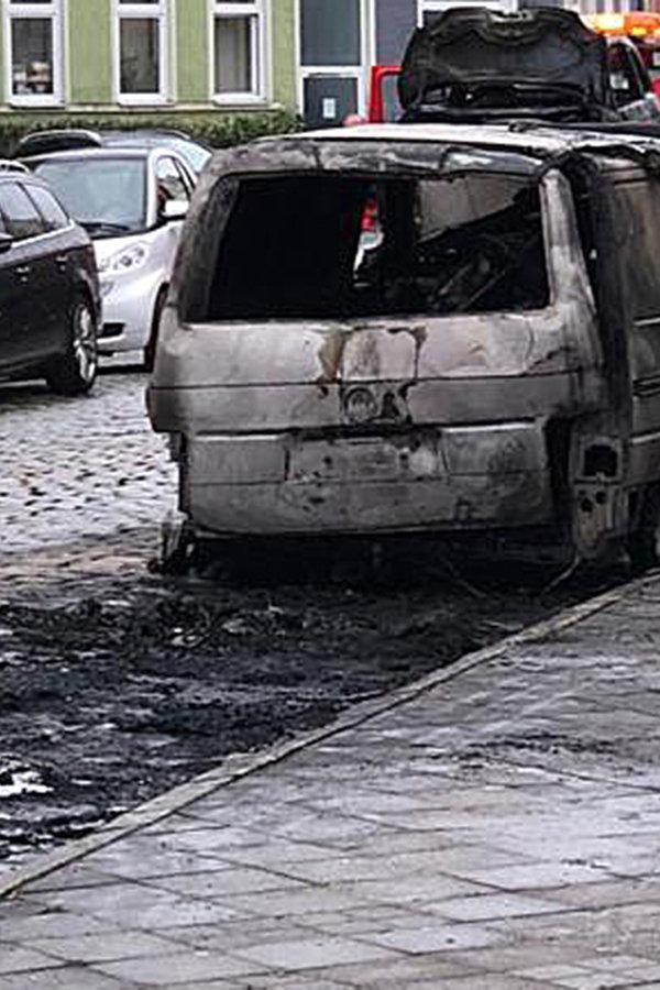 Autobrände in Rostock: Verdächtiger gefasst