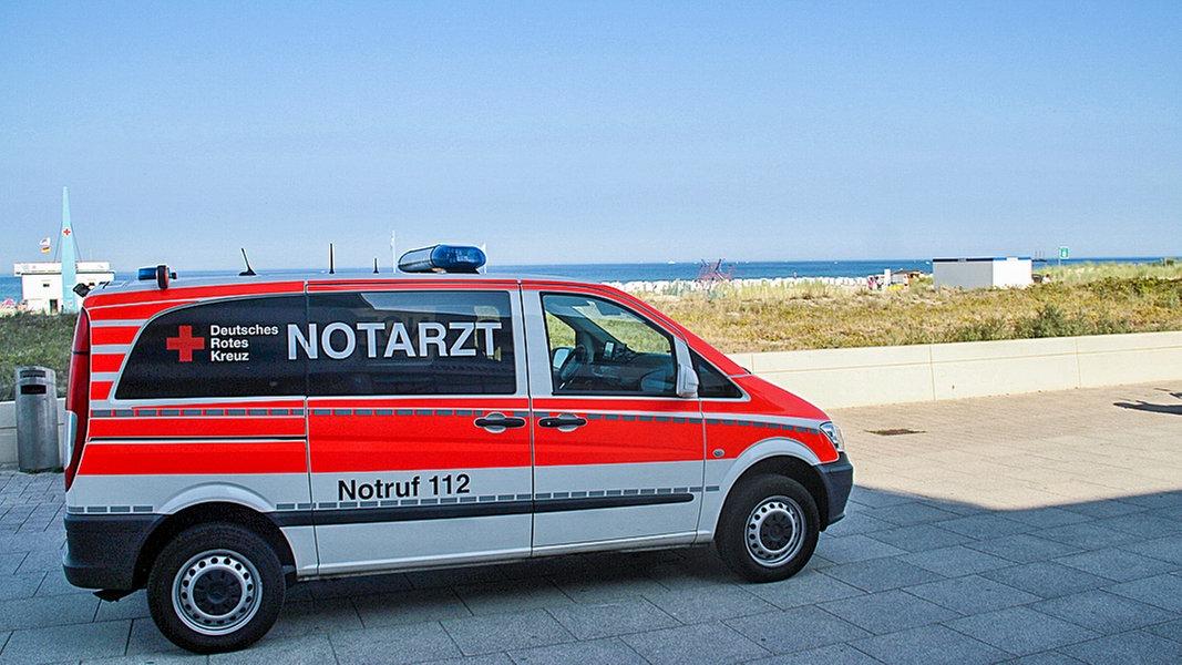 Graal-Müritz: 85-Jährige in Ostsee gestorben