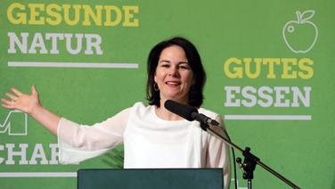 Annalena Baerbock, Bundesvorsitzende von Bündnis 90/Die Grünen | dpa-Bildfunk