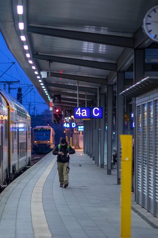 Bahnverkehr Corona