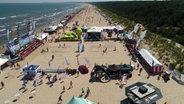 BeachCup: Weltklasse-Volleyball auf Usedom